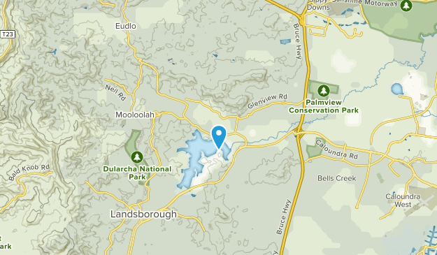 Glenview, Queensland Map
