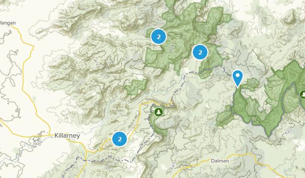 Killarney, Queensland Map
