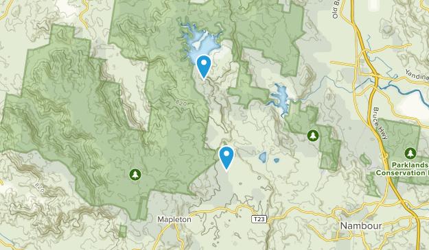 Kureelpa, Queensland Map