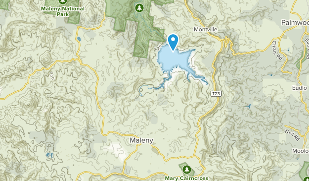 Maleny, Queensland Map