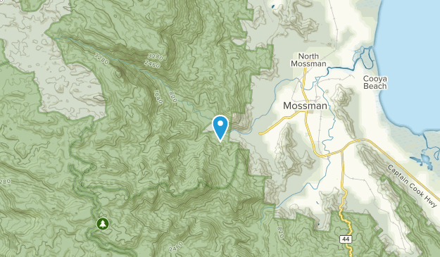 Mossman Gorge, Queensland Map