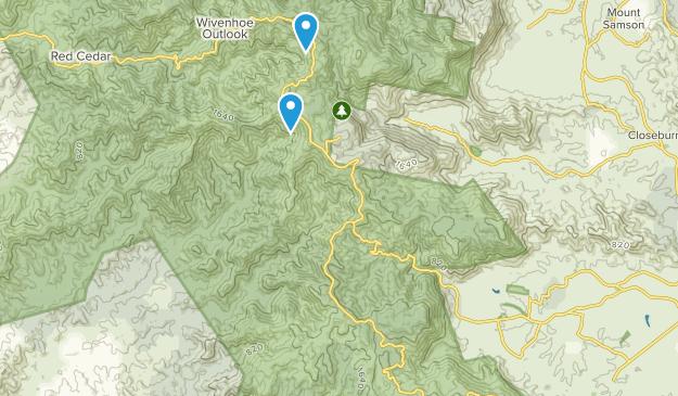 Mount Nebo, Queensland Map