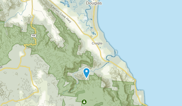 Map Of Australia Port Douglas.Best Trails Near Port Douglas Craiglie Queensland Australia