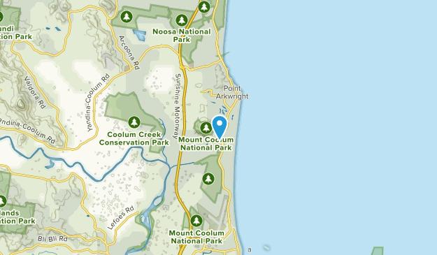 Sunshine Coast, Queensland Map