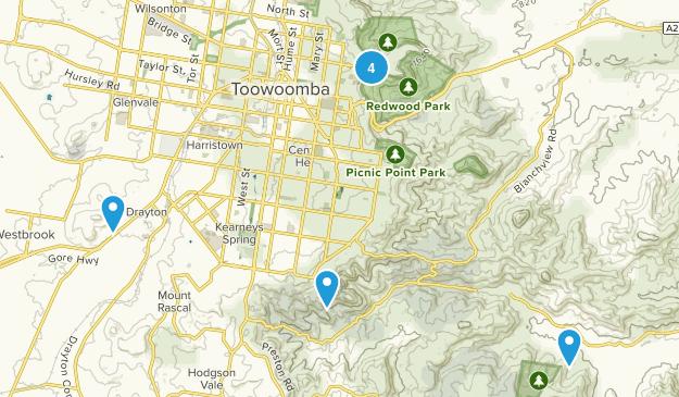 Toowoomba, Queensland Map