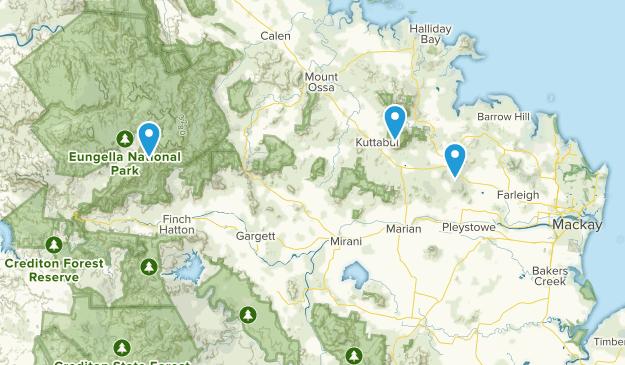 Walkerston, Queensland Map