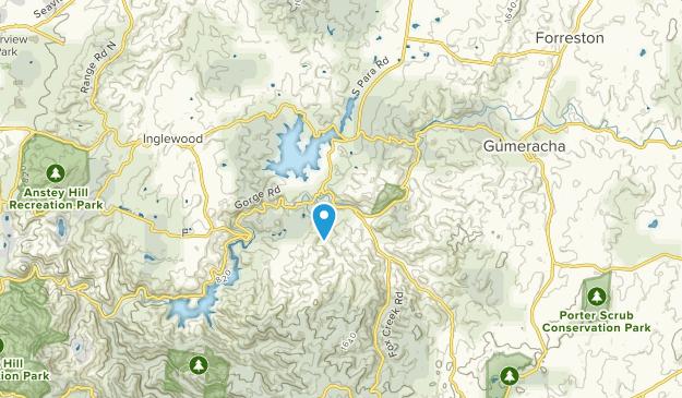 Cudlee Creek, South Australia Map