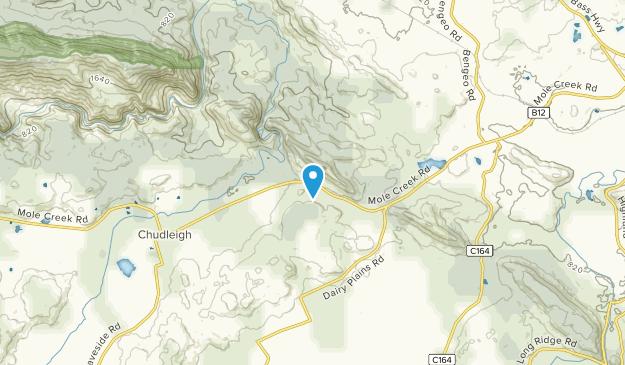 Chudleigh, Tasmania Map