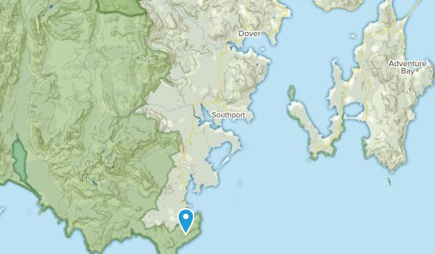 Dover, Tasmania Map