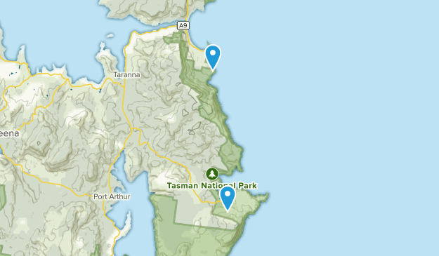 Eaglehawk Neck, Tasmania Map