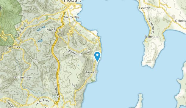 Mount Nelson, Tasmania Map