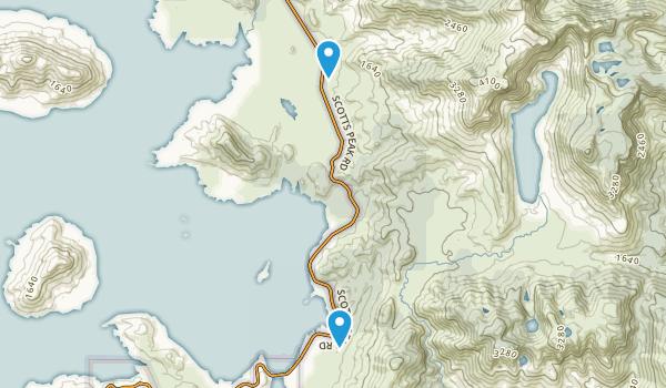 Southwest National Patk, Tasmania Map