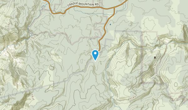 Staverton, Tasmania Map