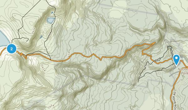 Tyenna, Tasmania Map