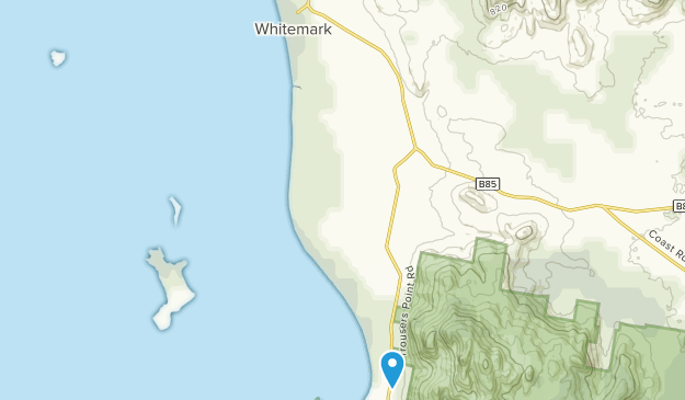 Whitemark, Tasmania Map