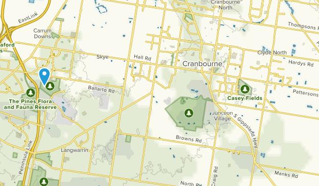Clyde, Victoria Map