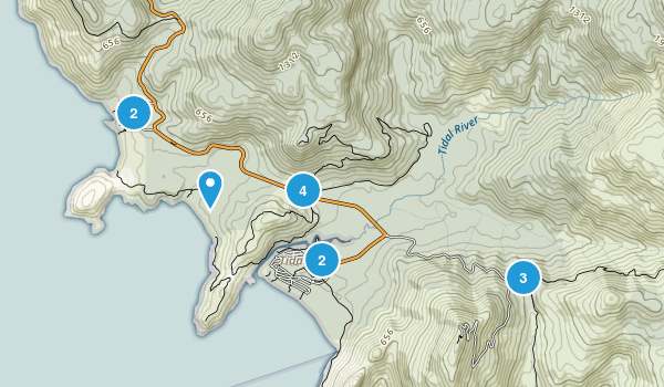 Darby River, Victoria Map