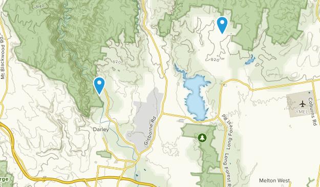 Darley, Victoria Map