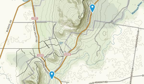 Dunkeld, Victoria Map