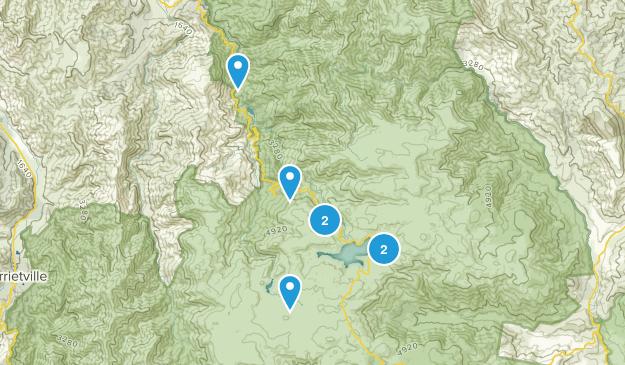Falls Creek, Victoria Map