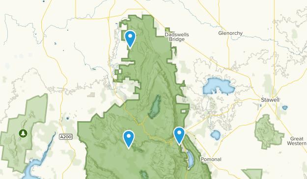 Halls Gap, Victoria Map