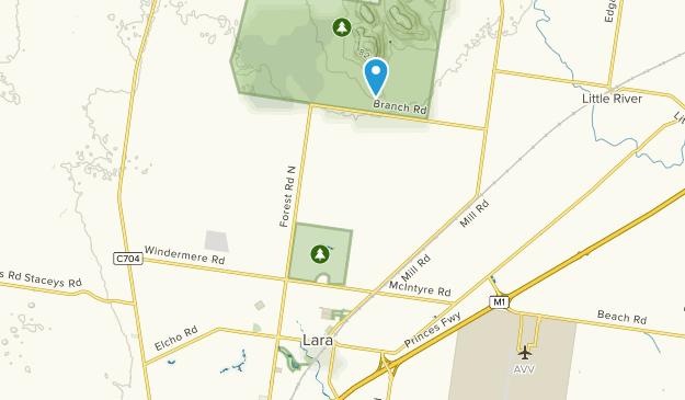 Lara, Victoria Map
