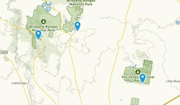 Meredith, Victoria Map
