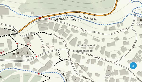 Mount Buller, Victoria Map
