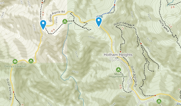 Mount Hotham, Victoria Map