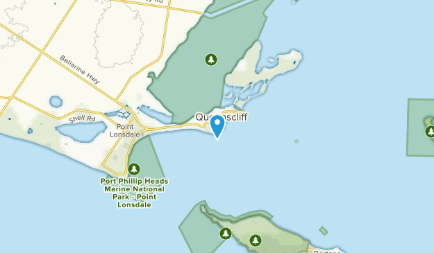 Point Lonsdale - Queenscliff, Victoria Map