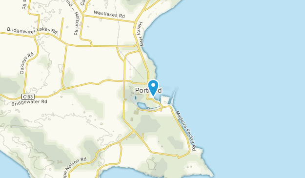 Portland, Victoria Map