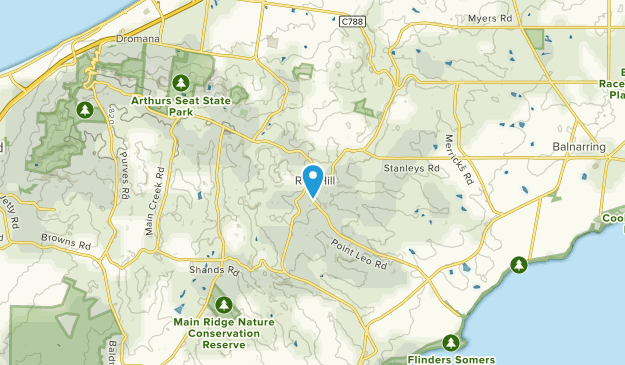 Red Hill South, Victoria Map