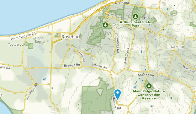 Rosebud, Victoria Map