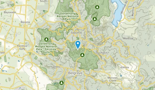 Sherbrooke, Victoria Map
