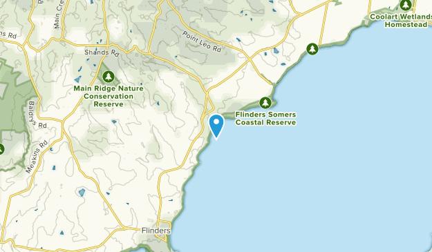 Shoreham, Victoria Map