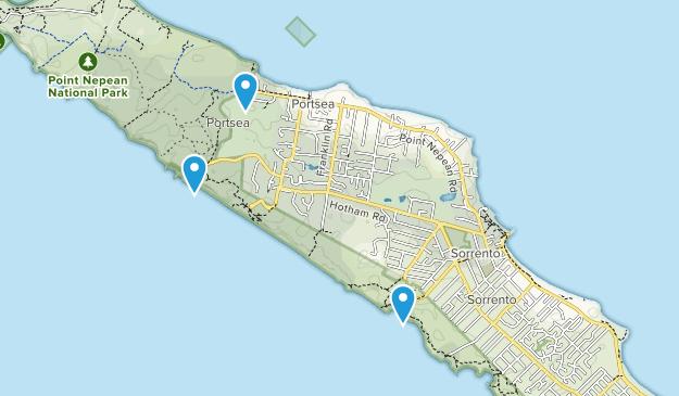 Sorrento, Victoria Map