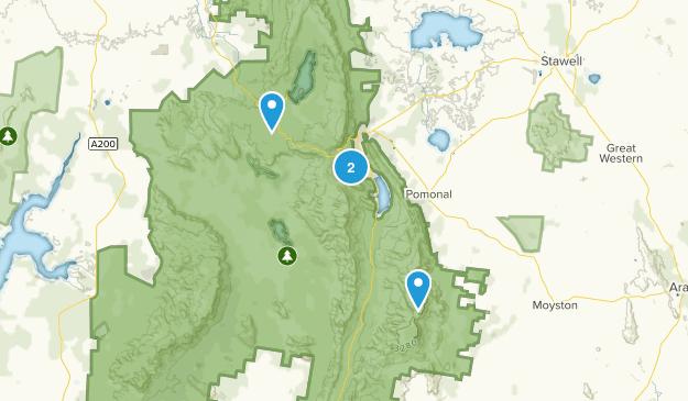 Wartook, Victoria Map