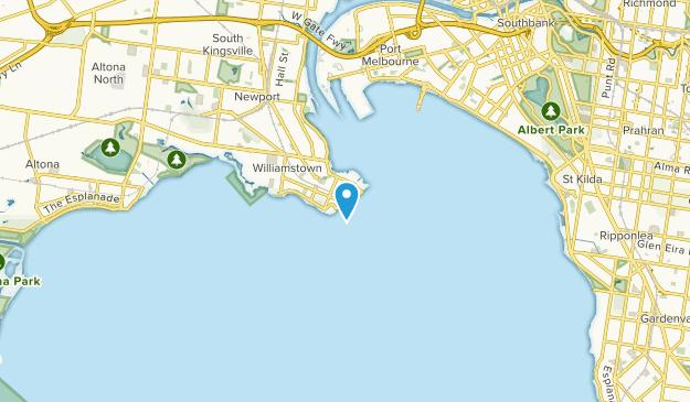 Williamstown, Victoria Map