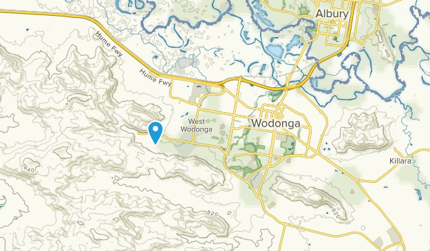 Wodonga, Victoria Map