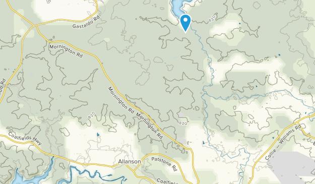 Allanson, Western Australia Map