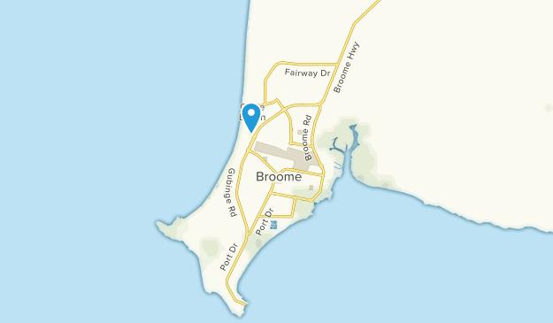 Broome, Western Australia Map