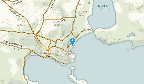 Collingwood Park, Western Australia Map