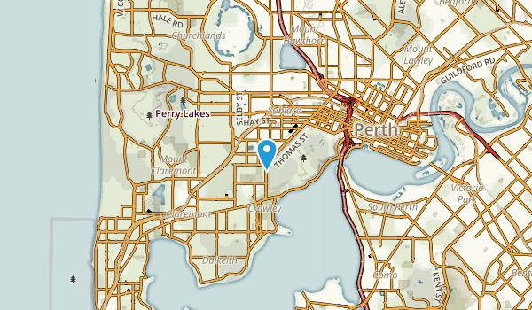 Daglish, Western Australia Map