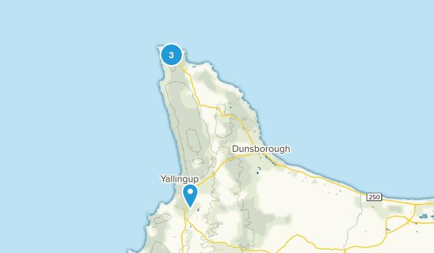 Dunsborough, Western Australia Map