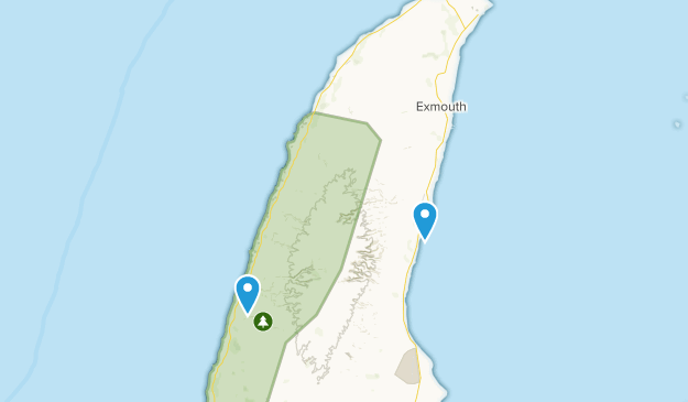 Exmouth, Western Australia Map