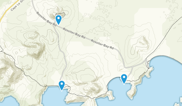 Gerby, Western Australia Map