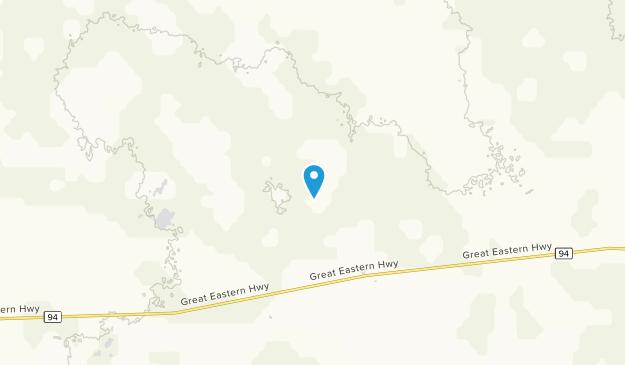 Gilgai, Western Australia Map