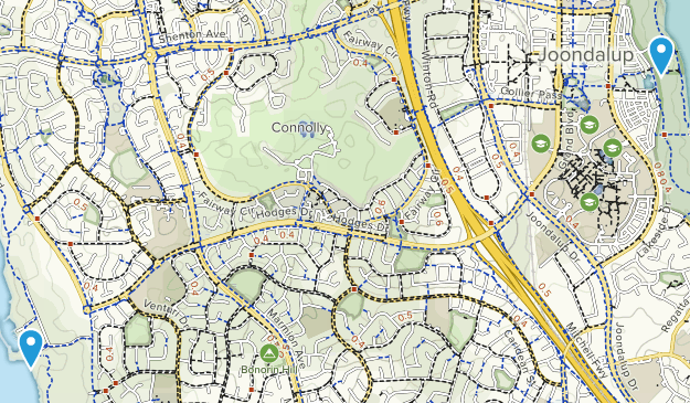 Joondalup, Western Australia Map