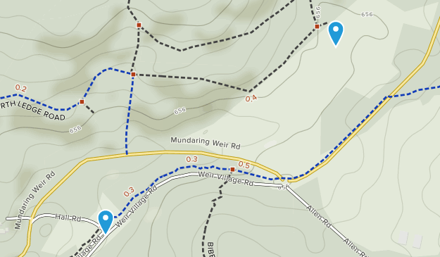 Mundaring Weir, Western Australia Map