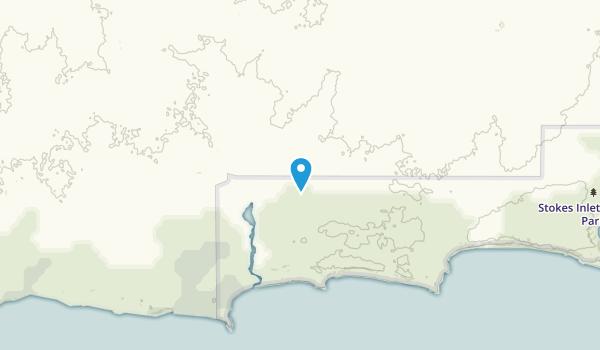 Nangarup, Western Australia Map